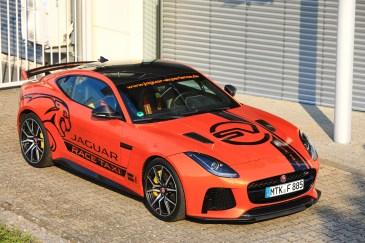 Jaguar F-Type SVR Race Taxi