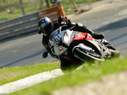 S1000RR on the Doc Scholl training