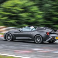 £1.3million Aston Martin Vanquish Zagato Speedster hits the Nürburgring