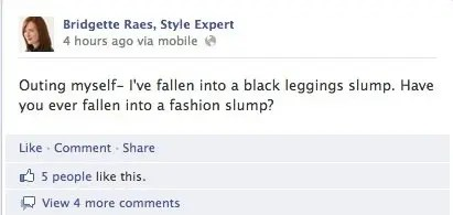 Fashion slump