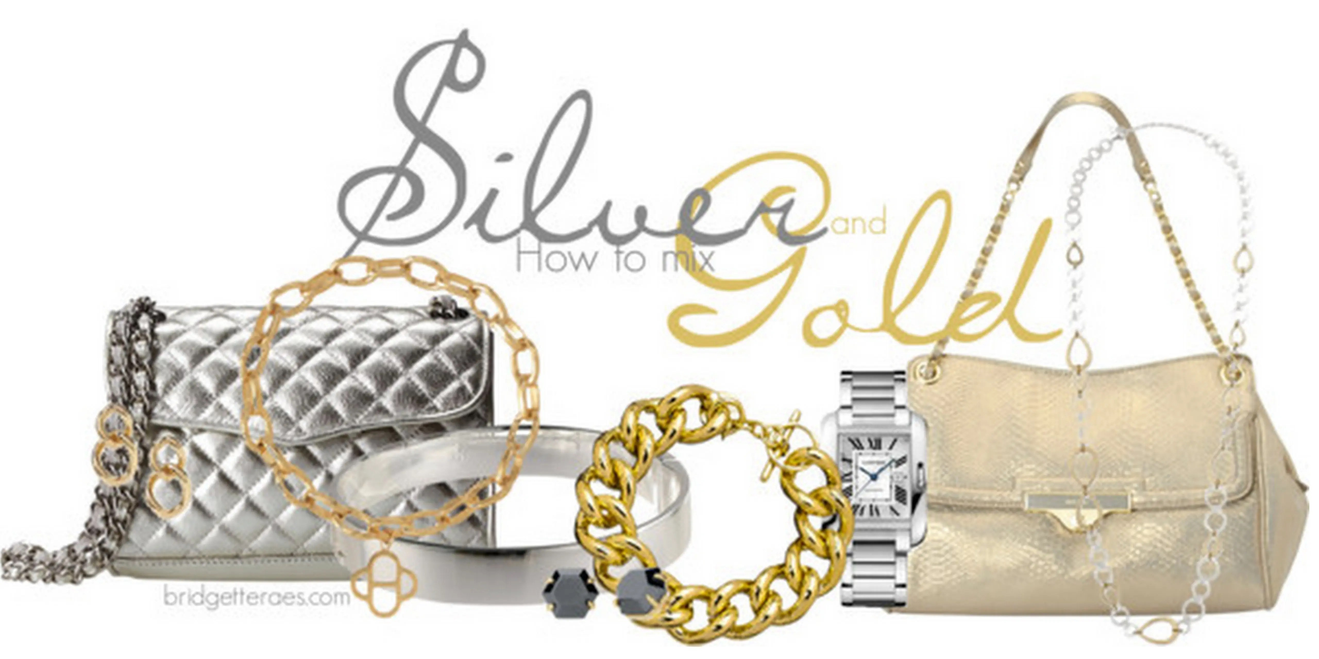 How to Mix Silver and Gold Jewelry  Bridgette Raes Style