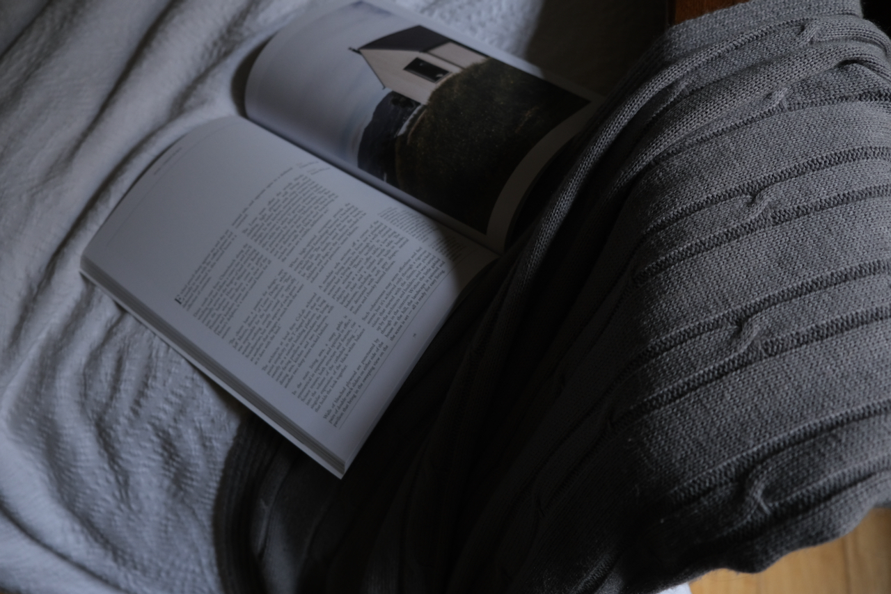 Creativity, Creative self expression, slow living, the art of slow living, Design Anthology Magazine, a photo of a magazine lying open on a bed.