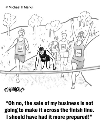 Tip #100 Selling a business is like running a marathon, it