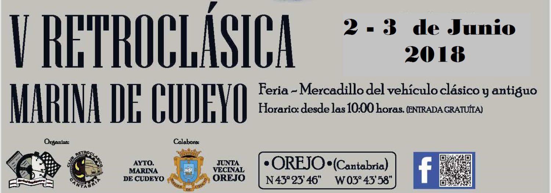 V Retroclásica MARINA de CUDEYO – Cantabria 2 y 3 de junio de 2018