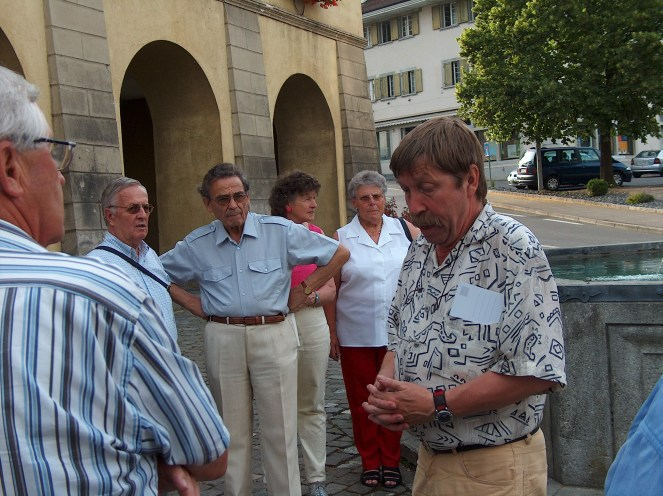 Ausflug zum Flecken Beromünster, Juni 2005