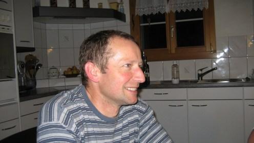 Hans Käslin, der Gastgeber diesmal