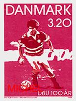 Dänische Fußballmarke.