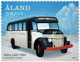 Der müde Theodor auf Briefmarke