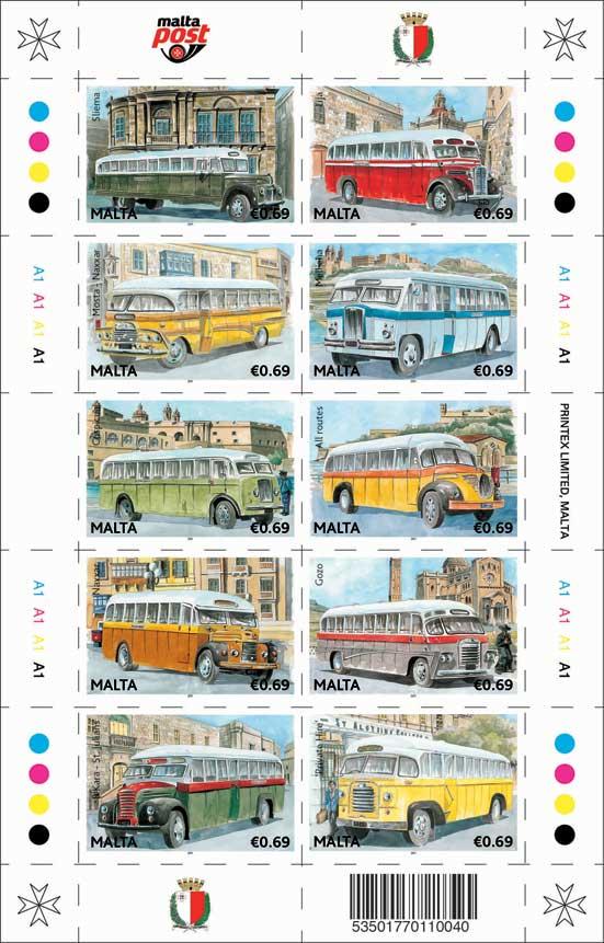 Noch mehr historische Busse aus Malta