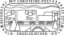 Deutsche Post Schmuckstempel Christkind-Post-Express