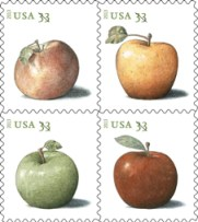 Briefmarken_Apfelsorten_USA