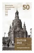 """""""Edition 2013"""" der Serie """"Dresdner Frauenkirche"""". Zwei weitere werden folgen."""