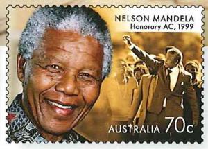 Australien Menschenrechtler Briefmarke