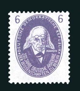 Geburtstag Theodor Mommsen Historiker Briefmarke