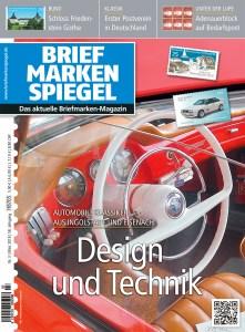 Briefmarken Spiegel 3 2018 Titel Auto Oldtimer Titel