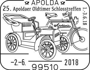 Sonderstempel Apolda Oldtimer-Treff