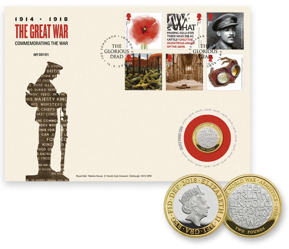 Erster Weltkrieg England 100 Jahre Deutschland Frankreich Briefmarke