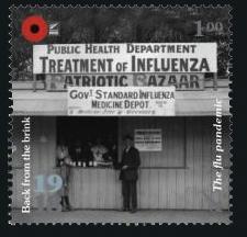 Erster Weltkrieg Neuseeland 100 Jahre Deutschland Frankreich Briefmarke