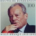Briefmarke Willy Brandt Deutschland brd-1706