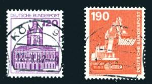 Briefmarke mehrfarbig Deutschland Jugend Philatelie