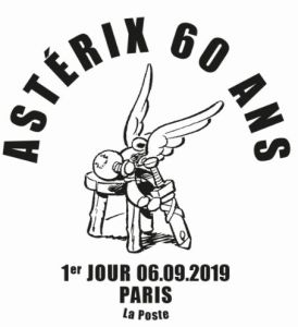 Ersttagsstempel 60 Jahre Asterix