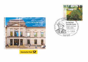 Ersttagsbrief Deutschland Vincent van Gogh
