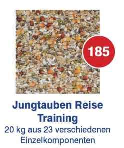 Vanrobaeys - Premium Power Jungtauben Reise/Trainung Nr.185 20kg