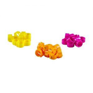 Erkennungs-Clipringe (In 6 Farben verfügbar )