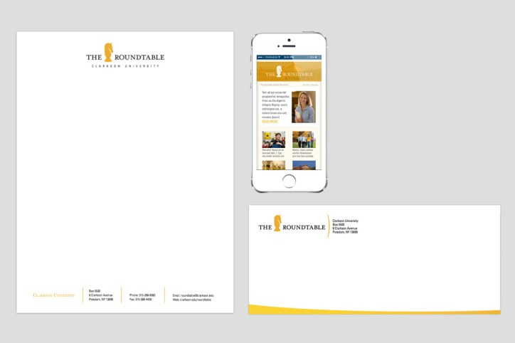 print and web collateral