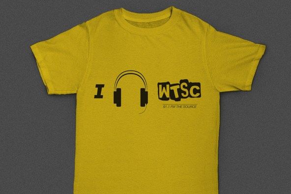 an update to the shirt from 2010 with the new logo and a better-looking pair of headphones