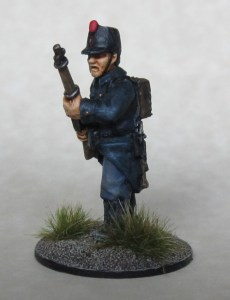 Infantry front