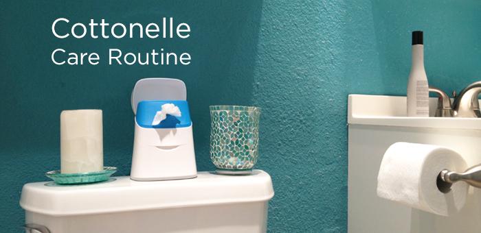 Cottonelle Care Routine via @BriGeeski