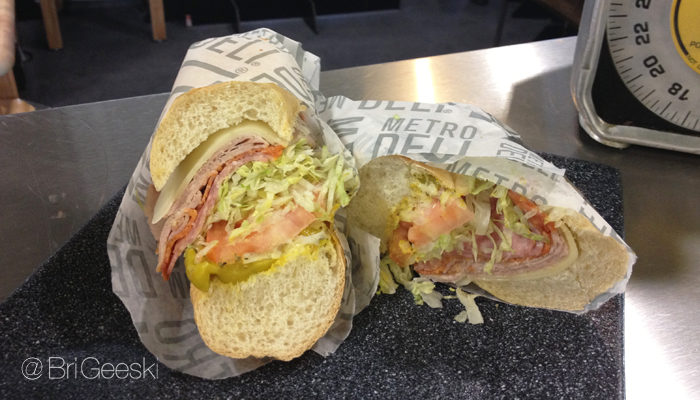 metro deli sandwich