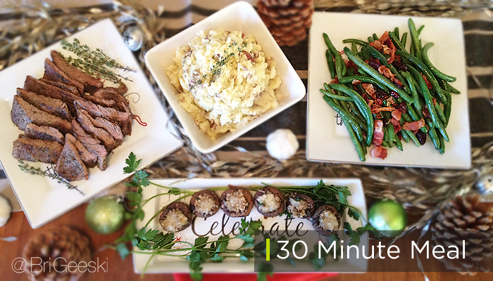 30 minute meal for under $30 from Smart & Final #shop