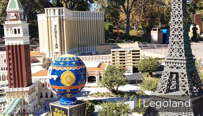 Miniland USA at Legoland California - Las Vegas Legos