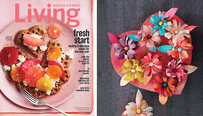 Martha Stewart Living February Issue