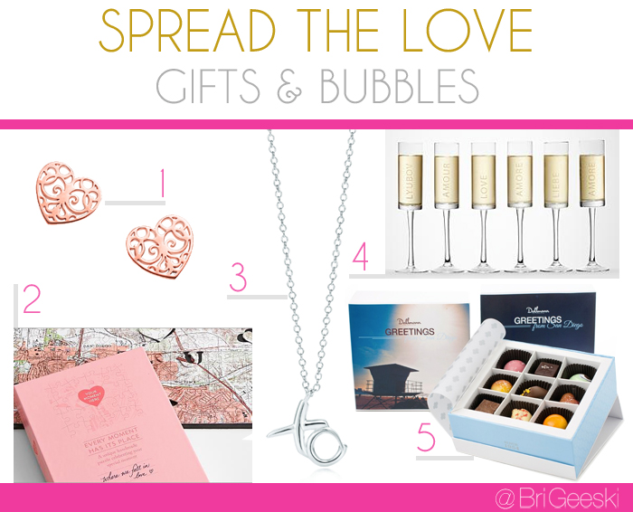 Spread the Love! Valentine Gifts and Bubbles