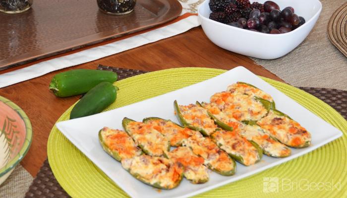 Papaya Sausage Jalapeño Poppers Recipe