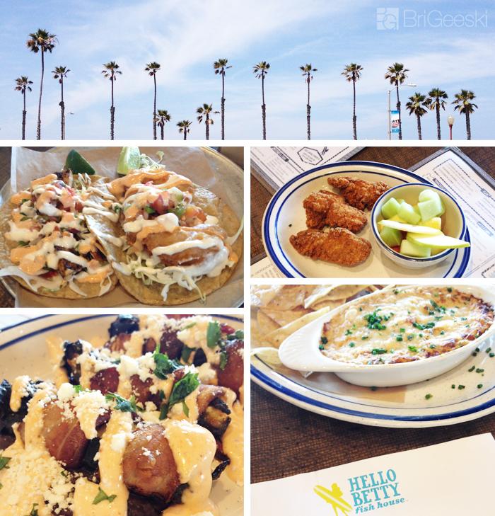 Hello Betty Fish House : Food