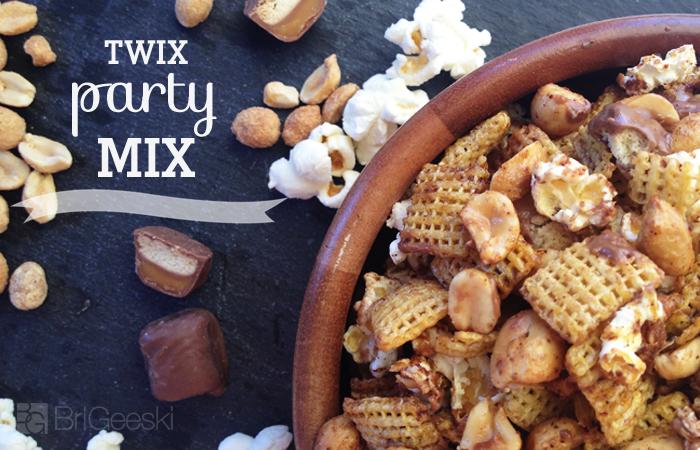 TWIX Bites Party Mix Recipe