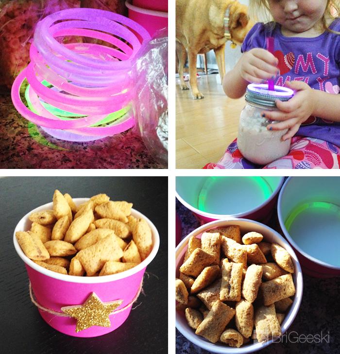 Krispies & Cocoa Toddler Movie Night: Glow Sticks