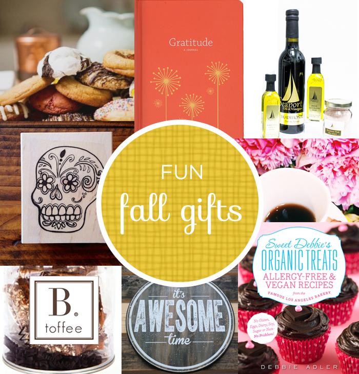 Fun Fall Gift Ideas