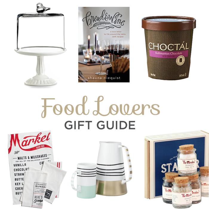 food lovers gift guide via @BriGeeski