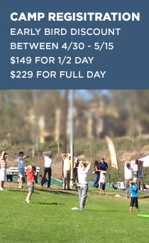 FCG Summer Camps On Sale! $149 for 1/2 Day $229 for Full Day