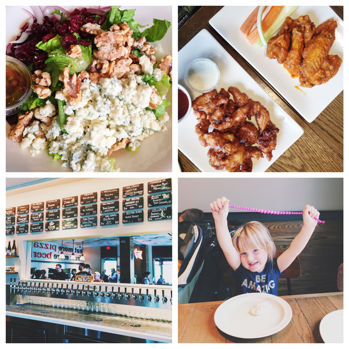 Regents Pizzeria has salads, chicken, pasta and more!