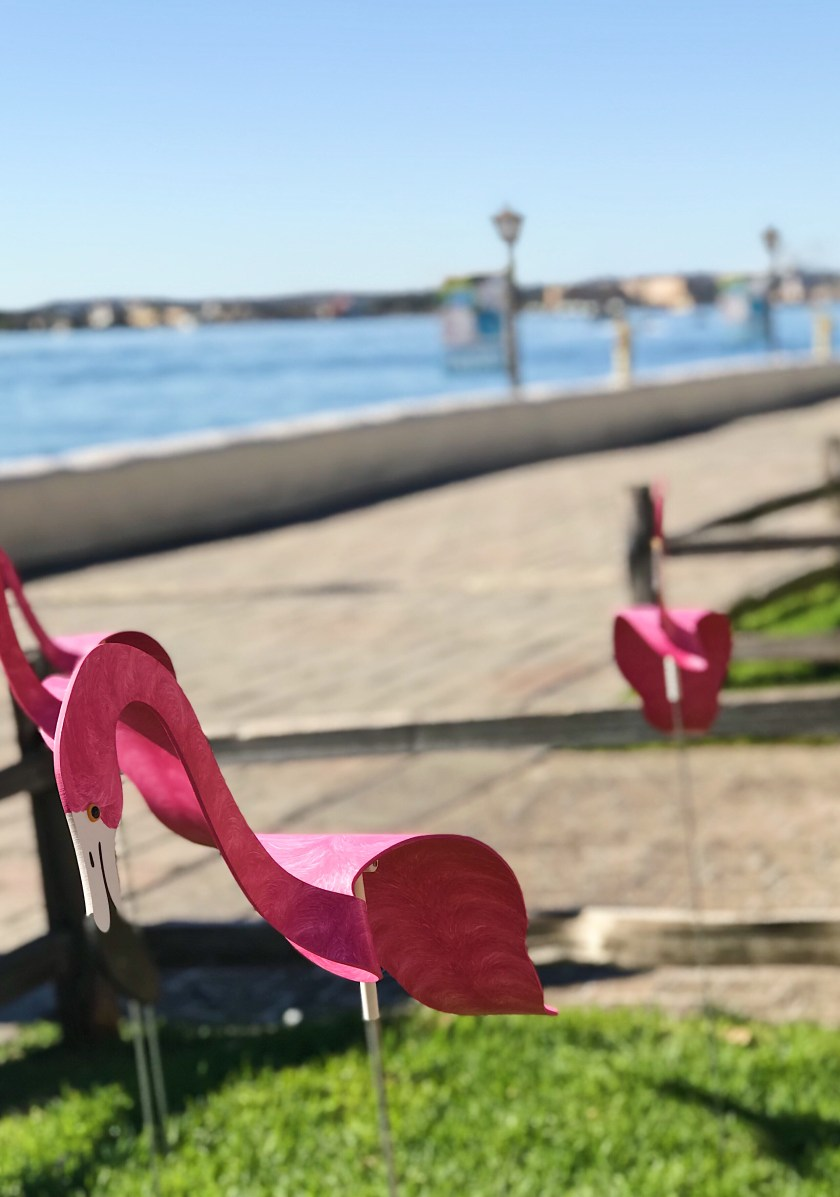 Flamingo Yard Ornaments
