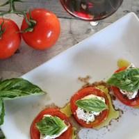 Burrata Caprese & Wine Pairing