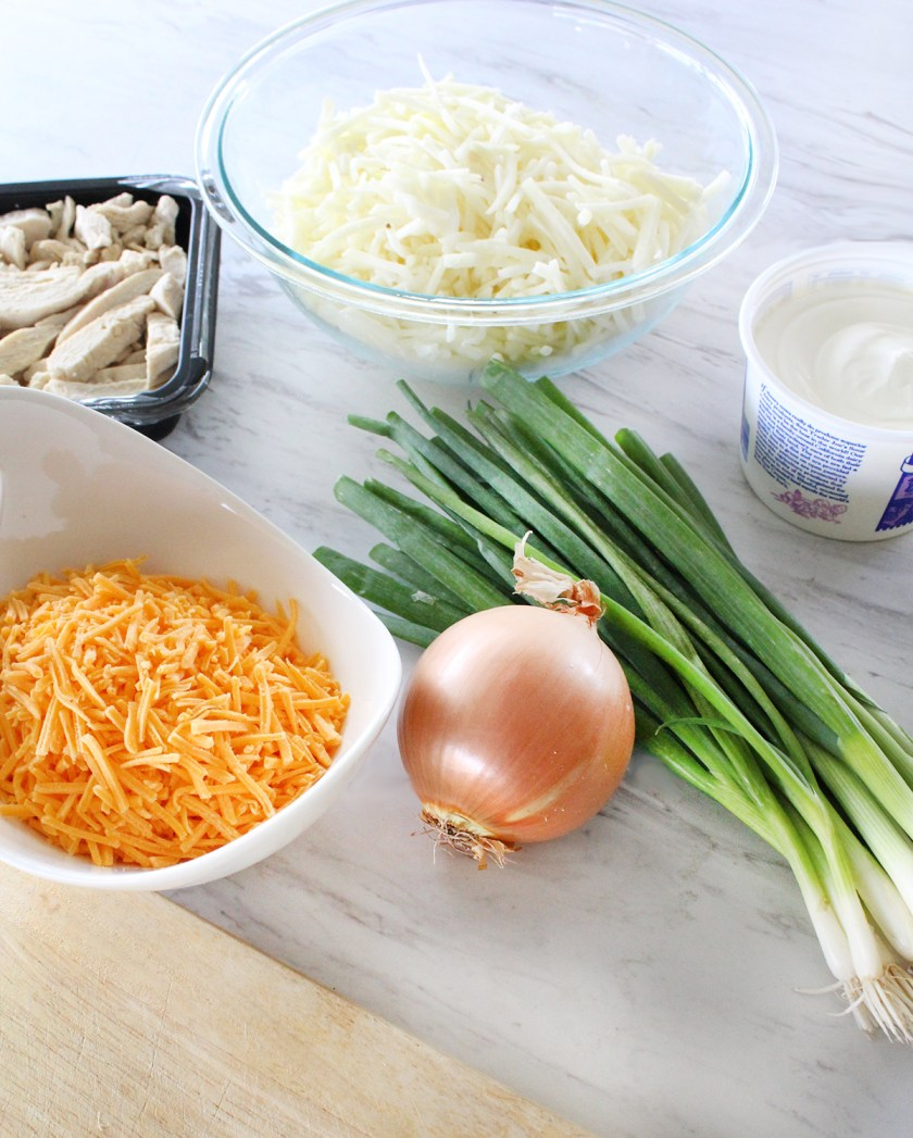 Weeknight Casserole Ingredients