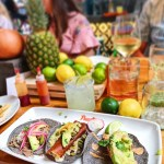 The Pickled Pear Carnitas Taco with Jalapeño Crema at Puesto