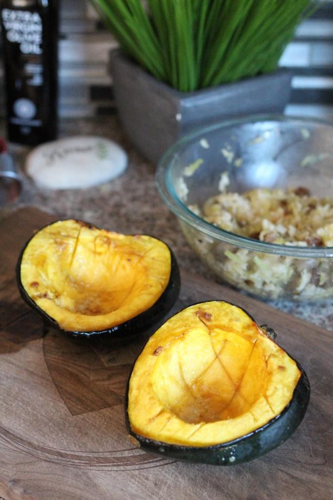Cooked Acorn Squash